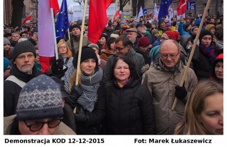 Demonstracja KoD 12-12-2015