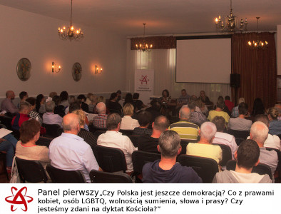 Panel 1 publiczność