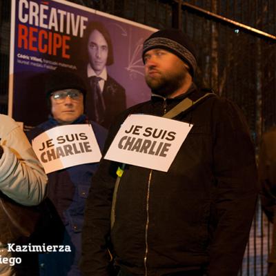 II rocznica zamachu na redakcję Charlie Hebdo