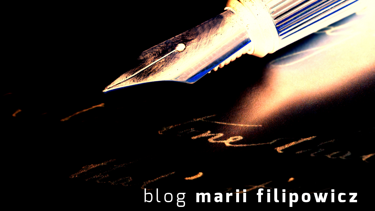blog Marii Filipowicz