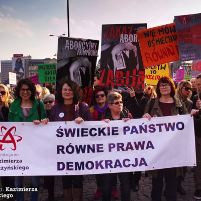 Fundacja im.Kazimierza Łyszczyńskiego na Manifie 2017