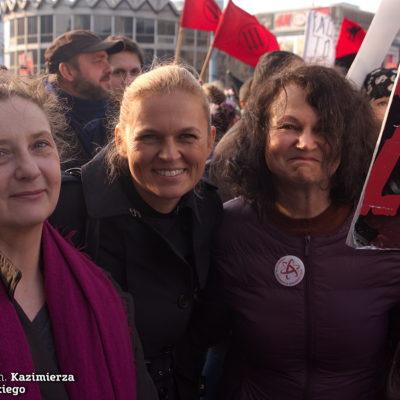 Nina Sankari, Barbara Nowacka i Joanna Piotrowska