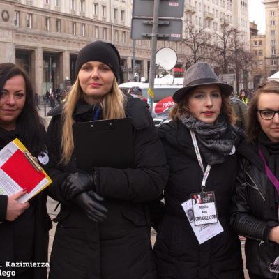 Organizatorki Finału #8M Warszawa, Agnieszka Czerederecka, Bożena Przyłuska, Monika Ausz i Katarzyna Kondej