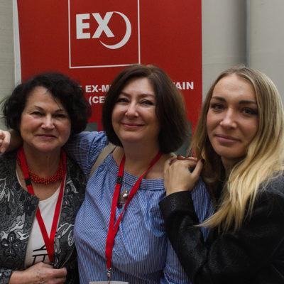 Nina Sankari, Maryam Namazie i Inna Shevchenko