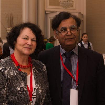 Nina Sankari i i Saif Ul Malook, adwokad Asia Bibi