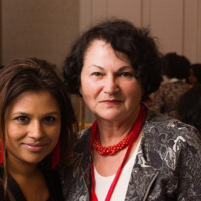 Nina Sankari i AfsanaLachaux